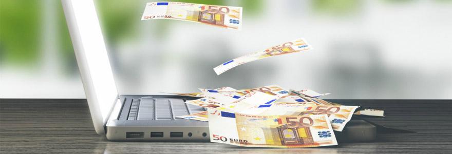 gain d'argent sur internet